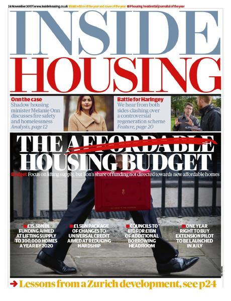 Inside Housing Digital Edition - 24 November 2017