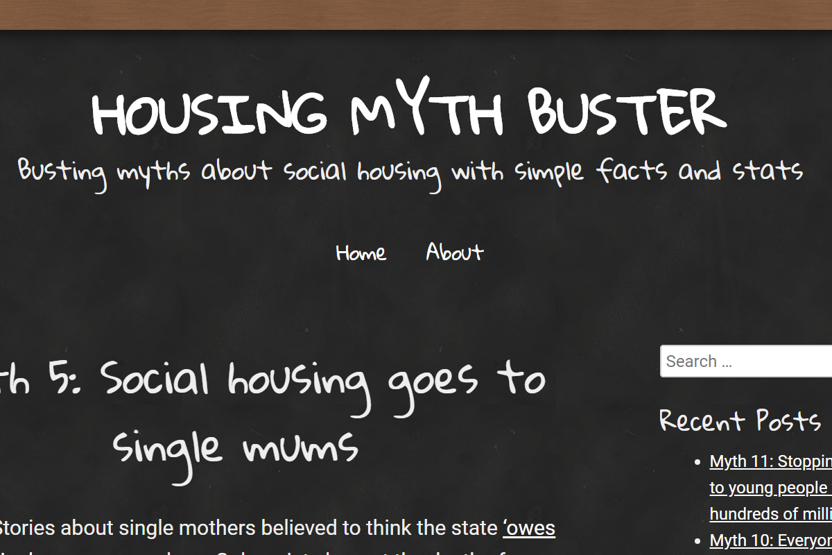 Our myth-buster website