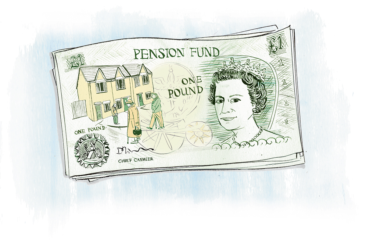 How councils are using their pension funds to build homes