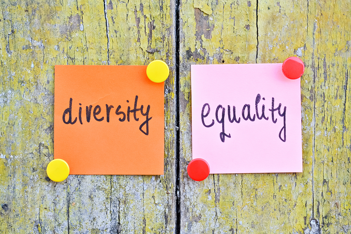 More than just words are needed on equality (Picture: Getty)