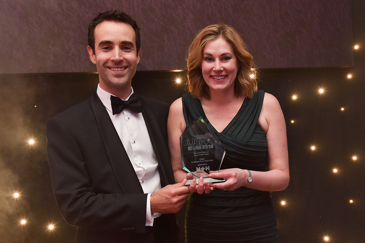 INNOVATION of the year (Under 12,000 homes)