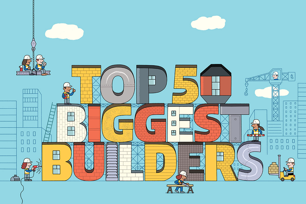 Top 50 Biggest Builders 2018