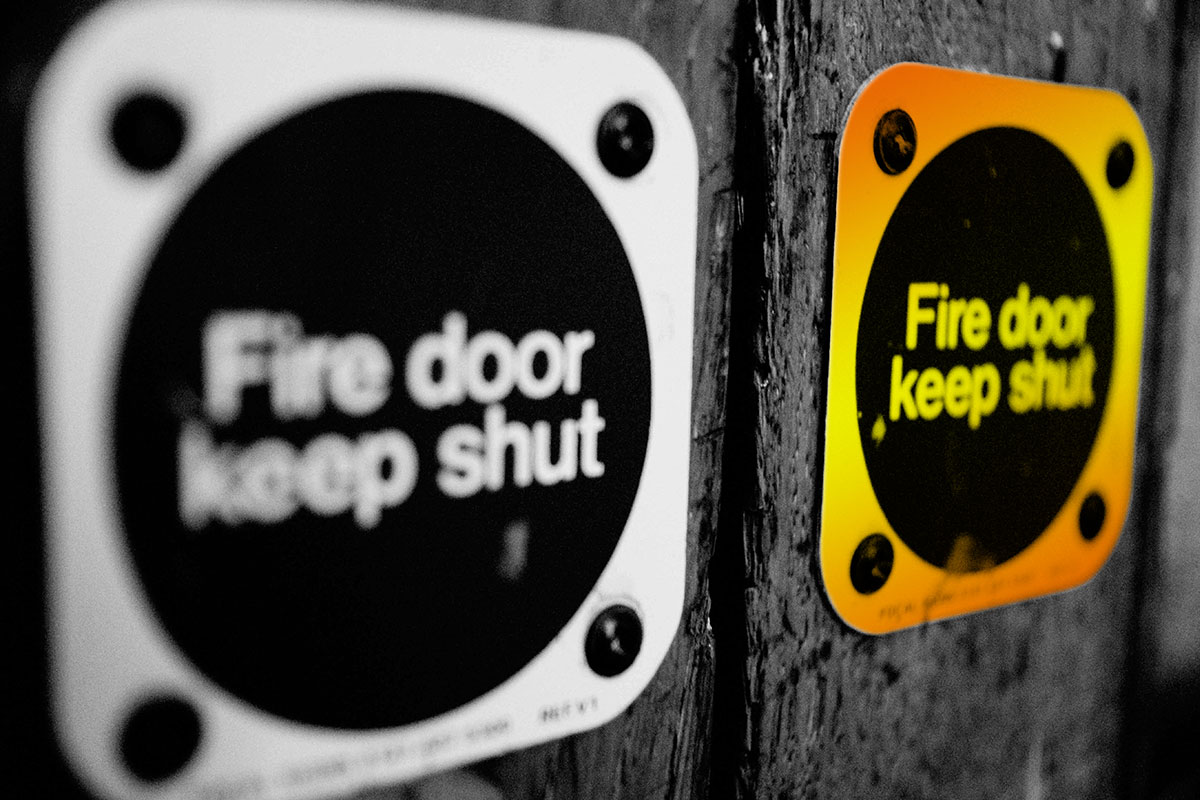 Fire doors: a systemic problem?