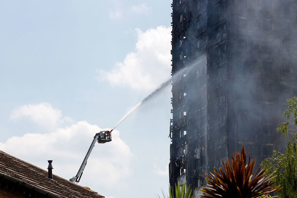 Inside Housing - News - Burning plastic insulation caused