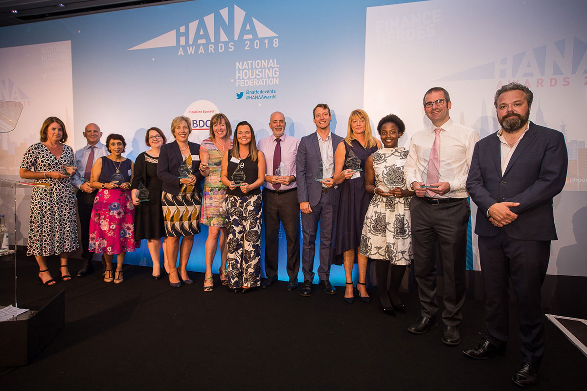 Housing finance teams praised at annual awards