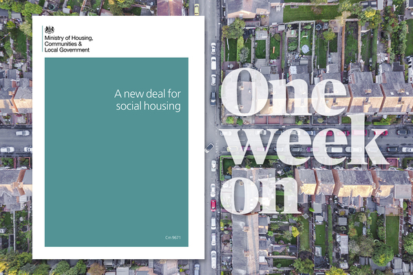 Social Housing Green Paper one week on: the debate rages