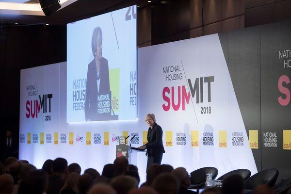 Theresa May's NHF speech: full coverage