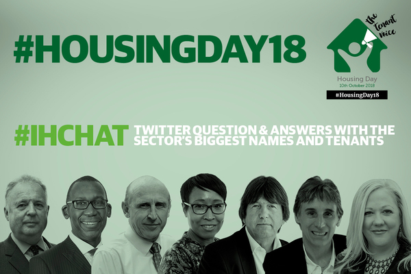 #IHchat programme on #HousingDay18