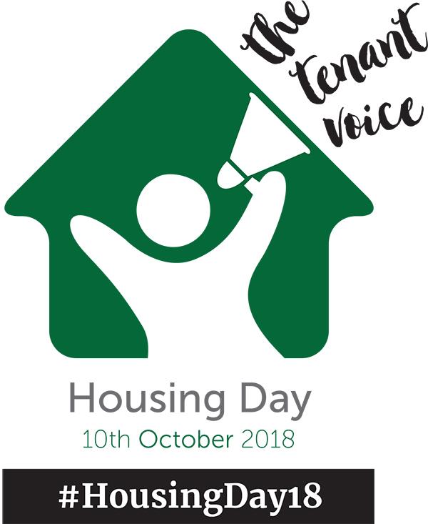 The logo for #HousingDay18