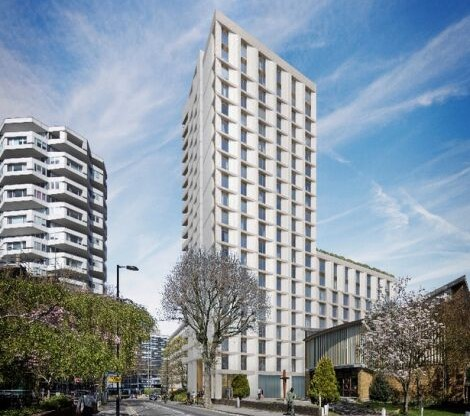 Croydon's 100% affordable housing development