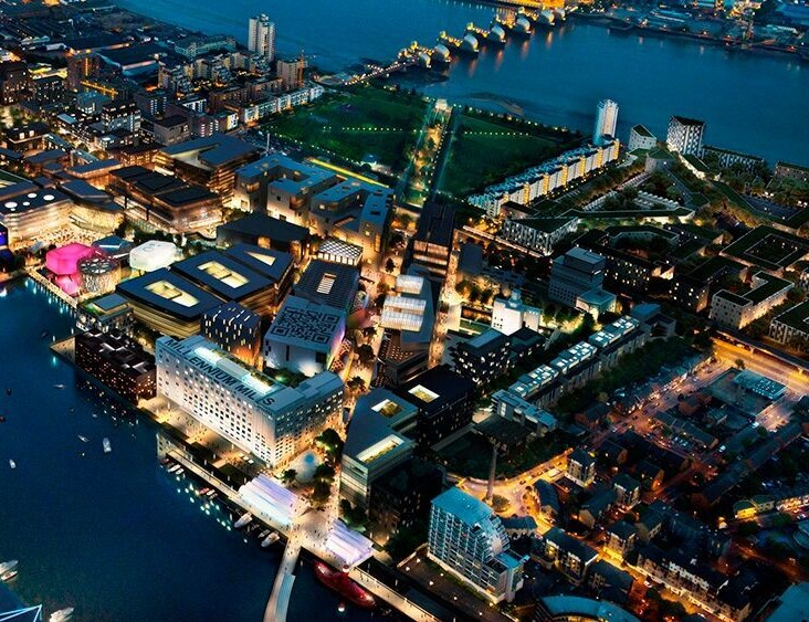 The Royal Docks: A centre for global trade and 4,000 new homes