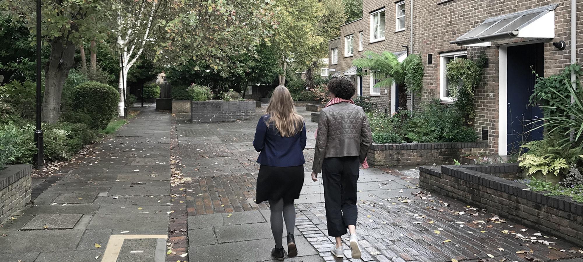 Christchurch Estate walking tour with Dinah Bornat