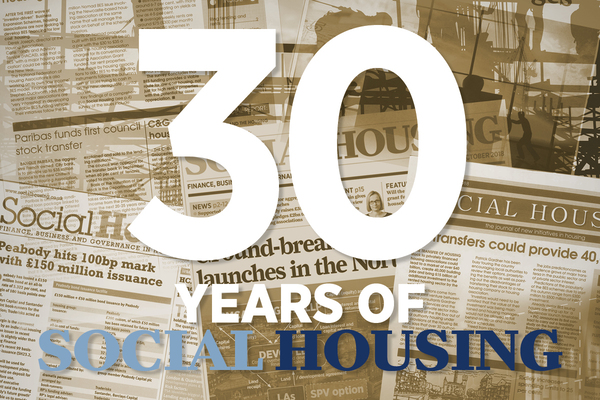 Thirty years of Social Housing magazine