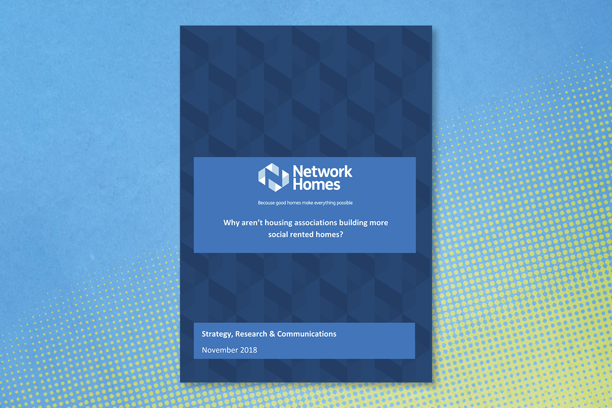 The front cover of the Network report