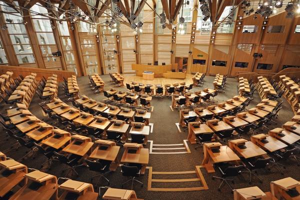 Holyrood, home of the Scottish parliament (picture: Getty)