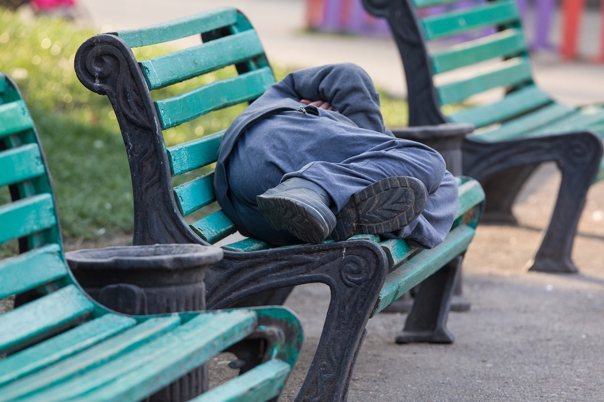 Homelessness applications rise in Scotland