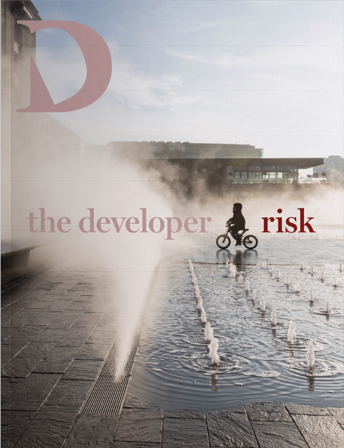 Our first edition is on risk and includes a 30-page report on the user experience of King's Cross