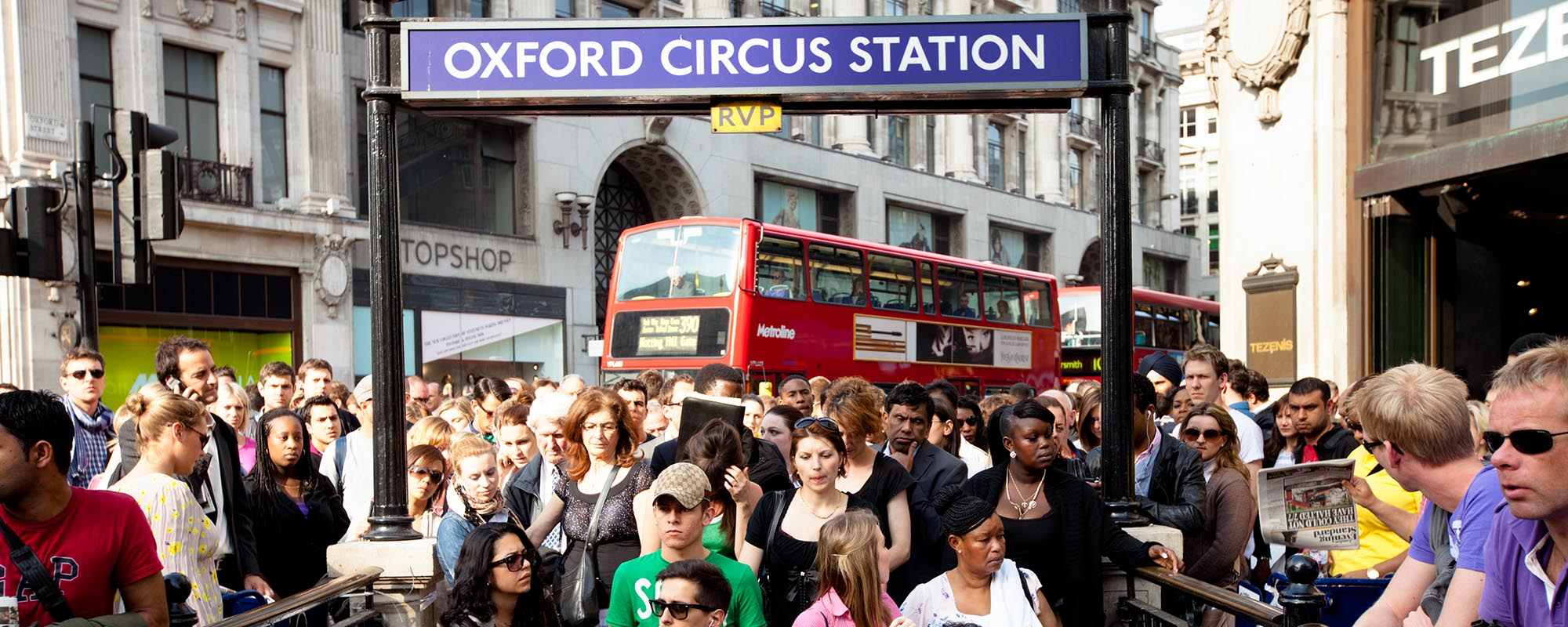 Oxford Circus Photo: Getty