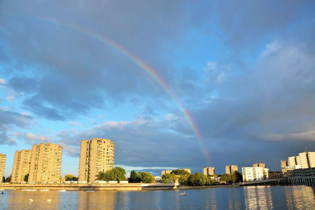 Southmere Lake in Thamesmead (picture: Getty)