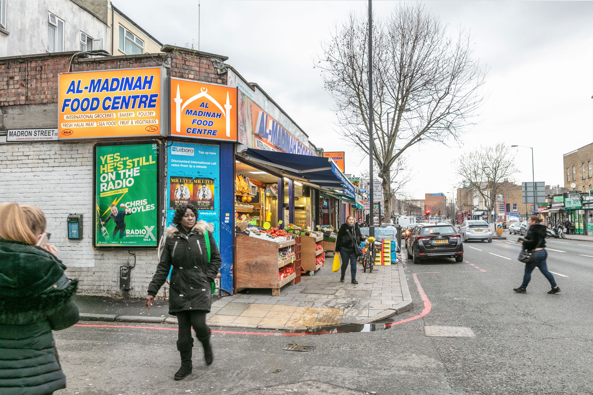 Multi-ethnic food shops are part of the history of the area