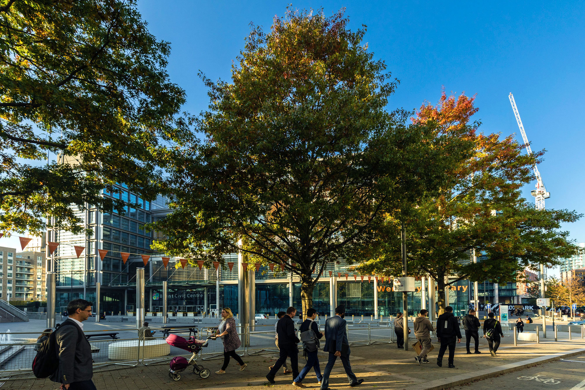 Brent has its council offices nearby, with library and civic centre in a single building