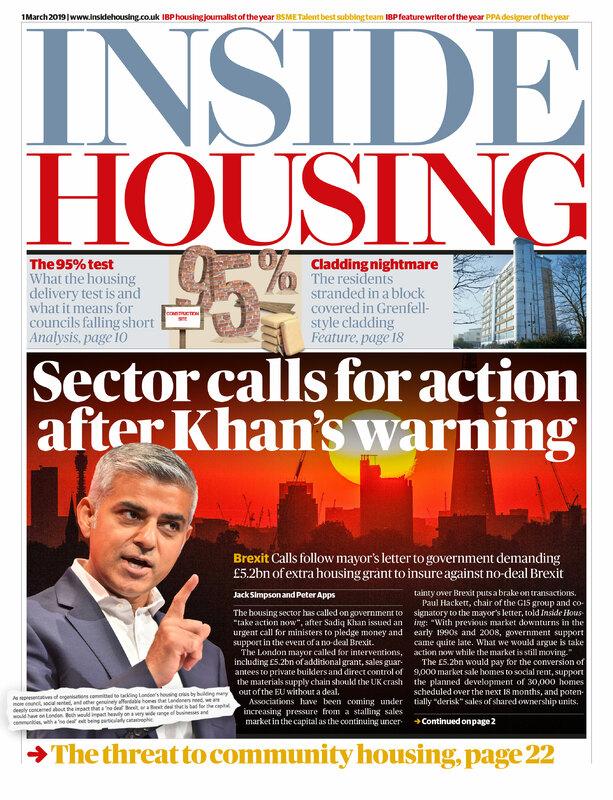 Inside Housing Digital edition - 1 March 2019