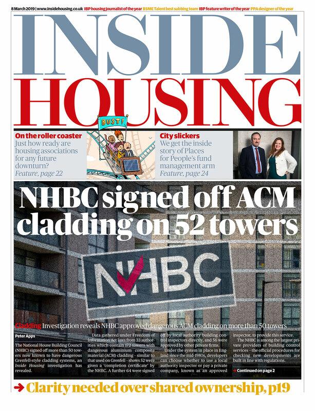 Inside Housing Digital edition - 8 March 2019