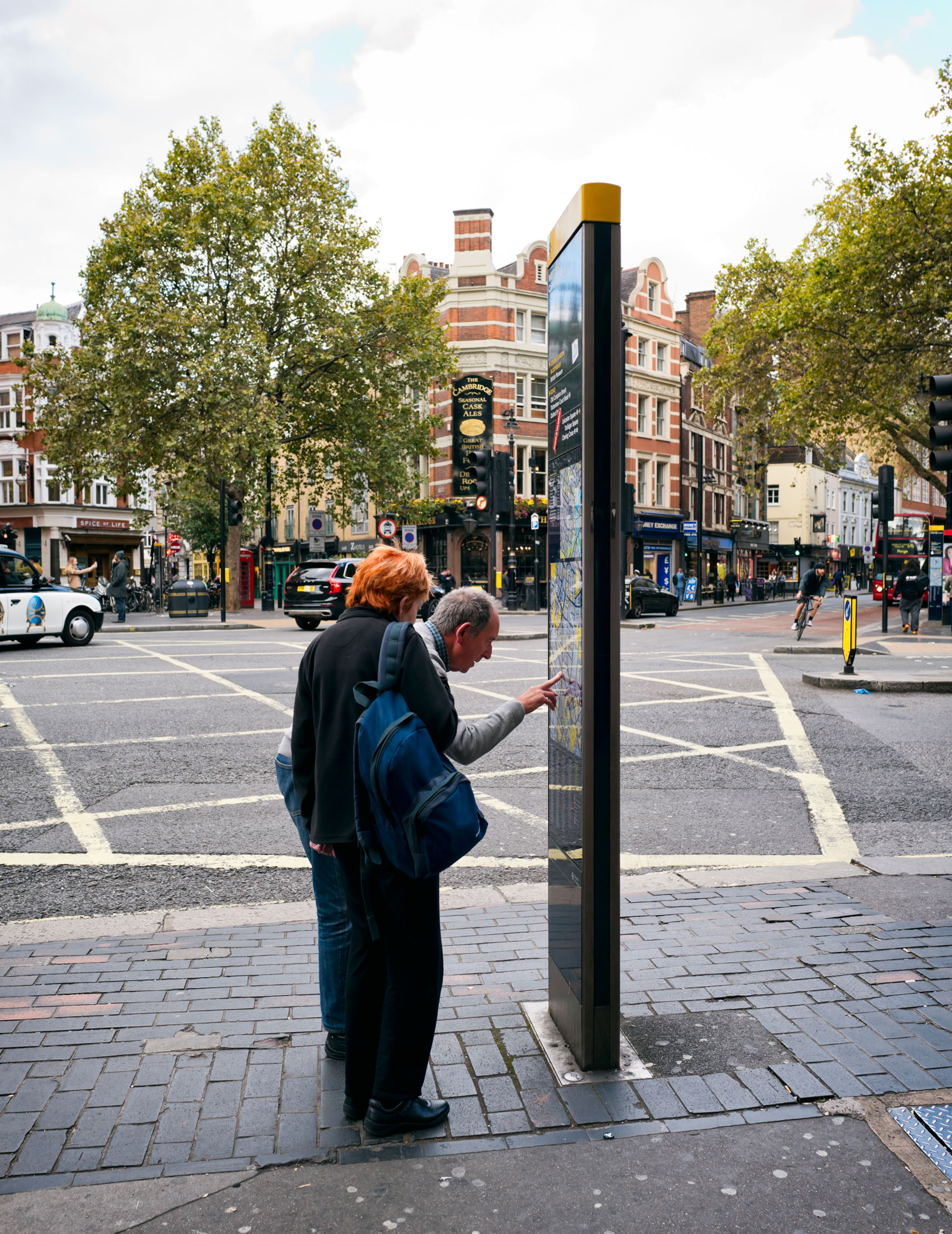 Legible London wayfinding system was one of the projects CLP promoted. Photo: Getty