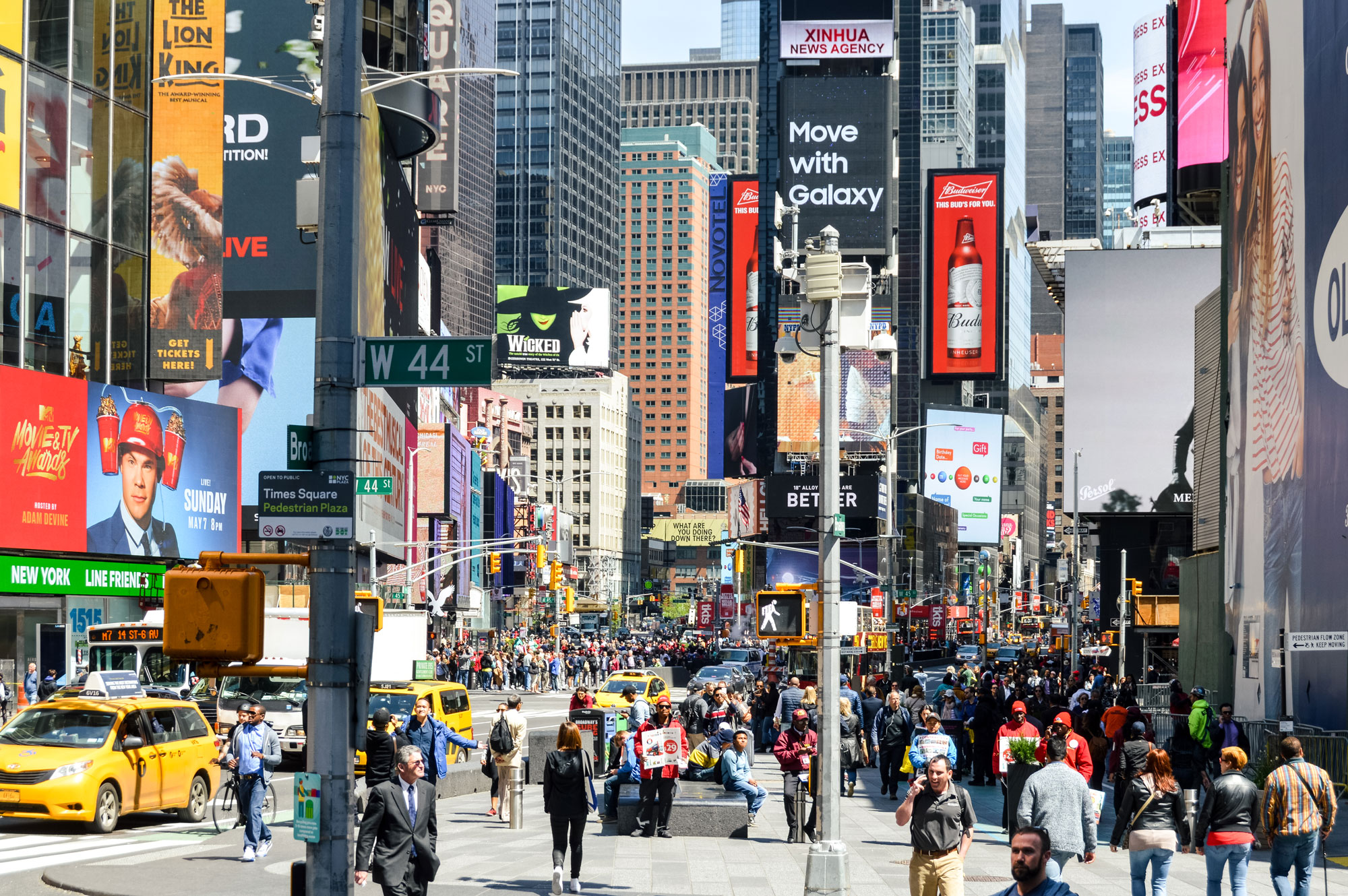 The Alliance for Downtown New York seconded staff to CLP. Photo: Getty