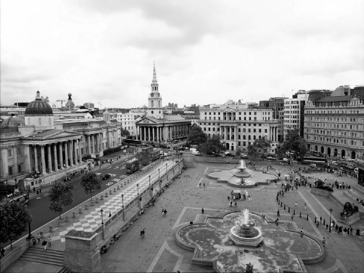CLP set up a business lobbying group to ensure that plans to pedestrianise parts of Trafalgar Square