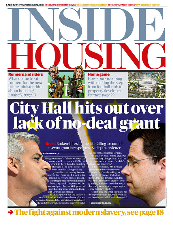 Inside Housing Digital Edition - 5 April 2019