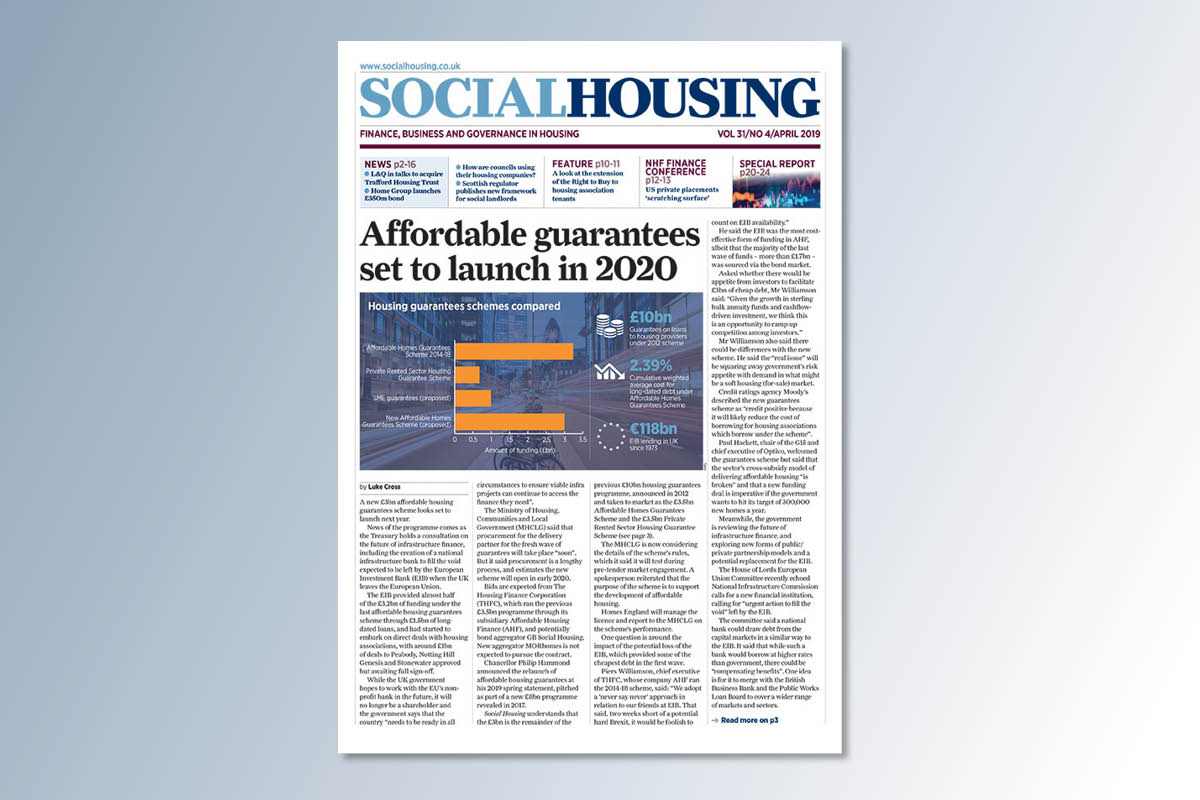 April digital edition of Social Housing out now