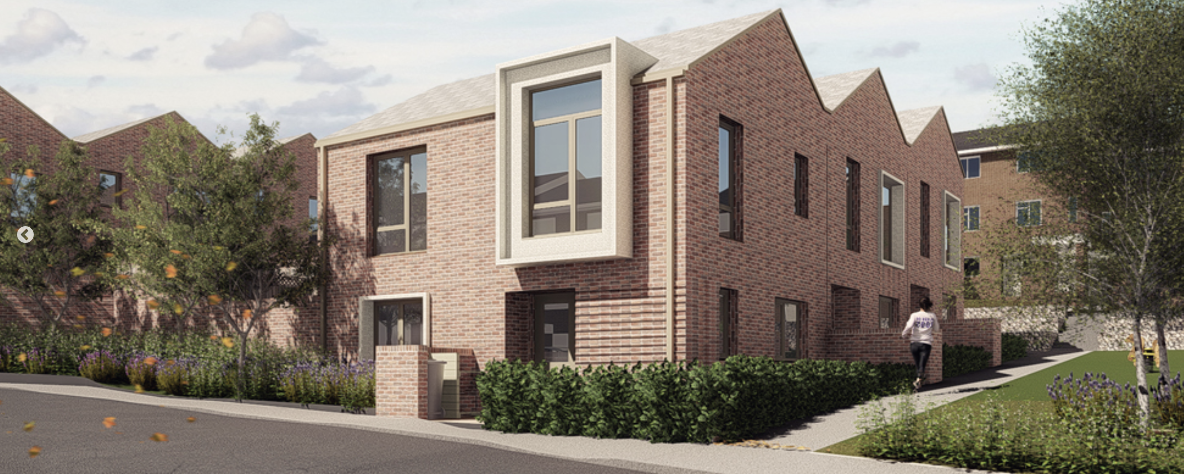 Ravensdale and Rushden scheme by HTA Design