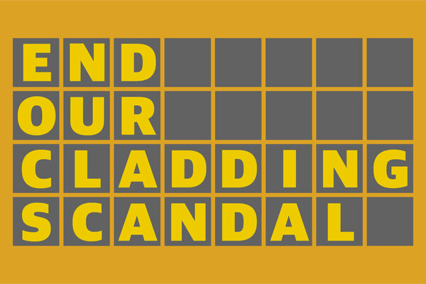 #EndOurCladdingScandal: campaign launch sees cladding stories go viral