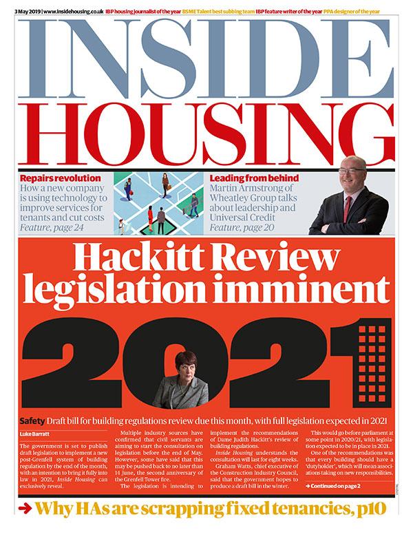 Inside Housing Digital Edition – 3 May 2019