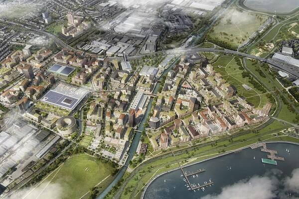 Enfield to increase affordable housing to 50% on first phase of its £6bn Meridian Water scheme