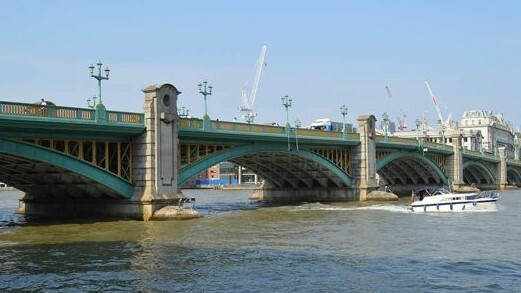 Southwark, London's least-used bridge will become more visible as a result of the project