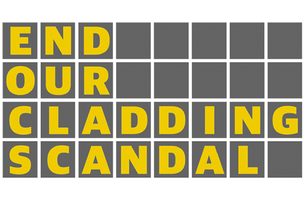 End Our Cladding Scandal campaign