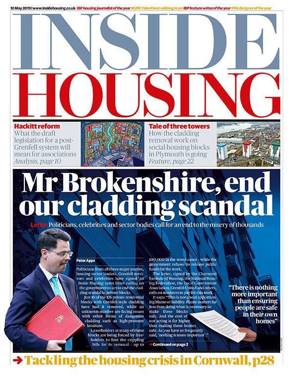 Inside Housing Digital Edition – 10 May 2019
