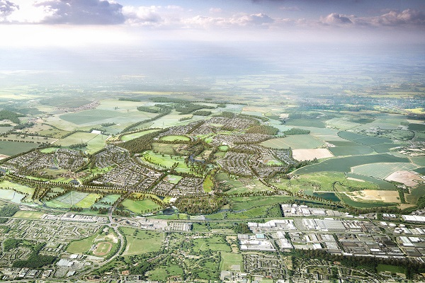 Places for People submits plans for 8,500 homes in Hertfordshire