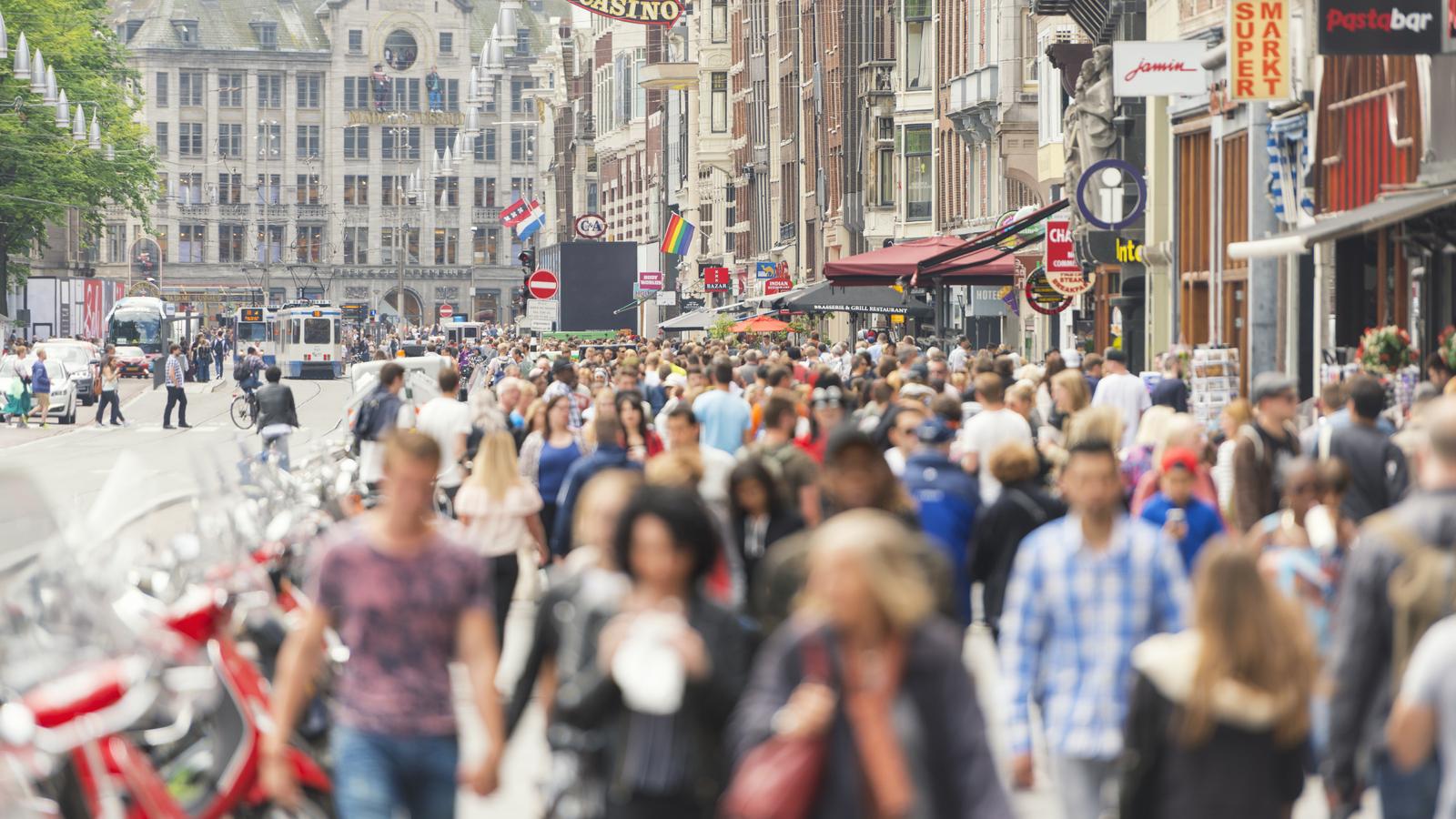 Amsterdam – walking outside Centraal Station
