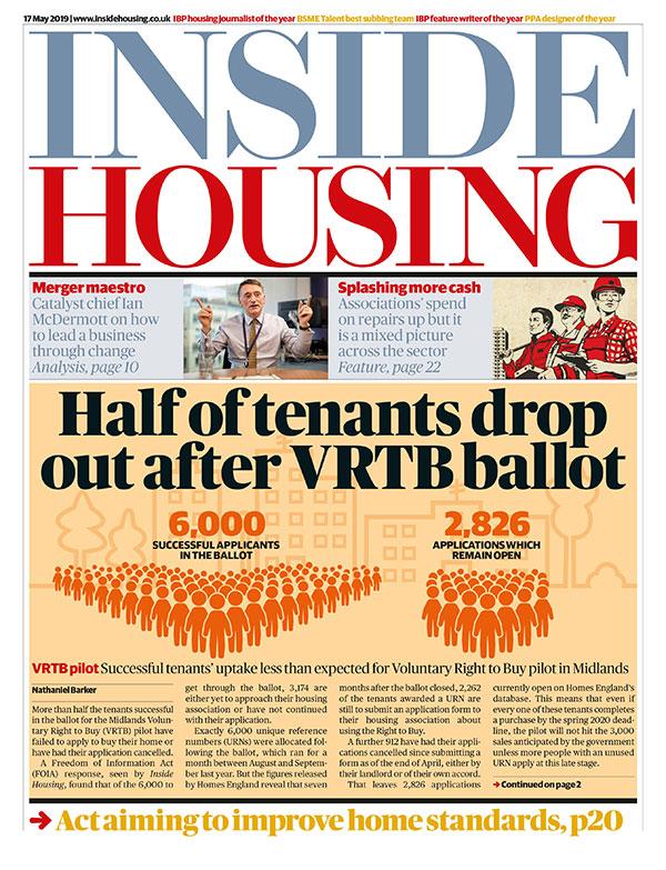 Inside Housing Digital Edition – 17 May 2019