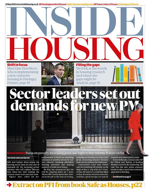 Inside Housing Digital Edition – 31 May 2019