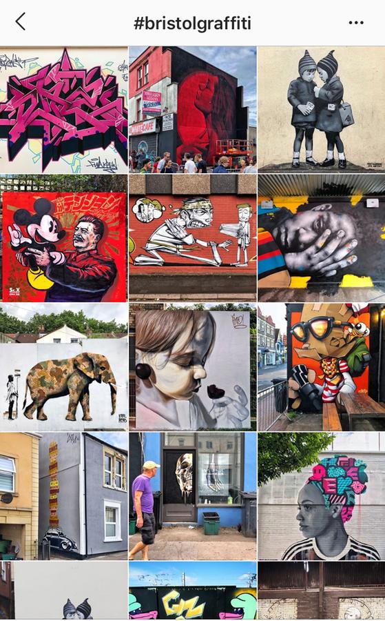 Bristol graffiti has its own hashtag
