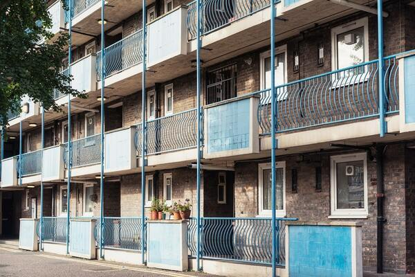 Homeowners 42 times more wealthy than social housing tenants, inequality report finds