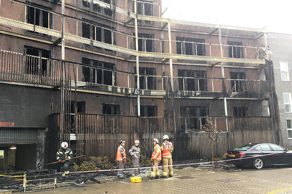 Barking fire residents 'had to break through doors' in desperate bid to escape flames