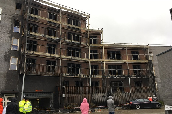 Revealed: the type of cladding used on Barking block destroyed in fire