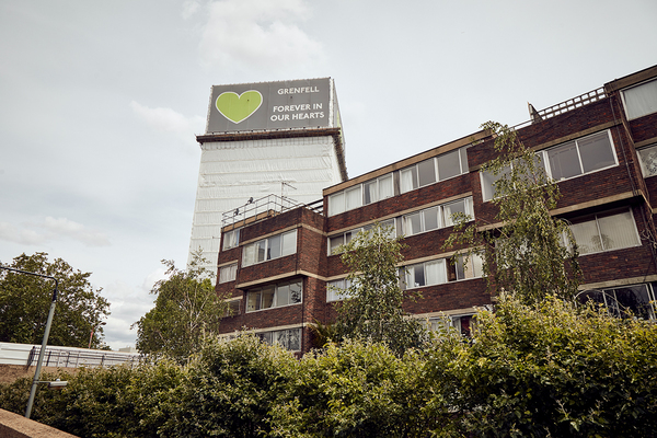 Residents on estate neighbouring Grenfell call for government help with £15,000 bills for refurbishment