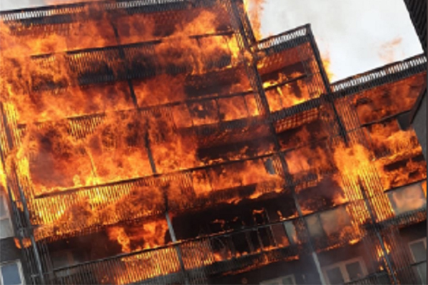 Remove combustible materials from balconies, says government