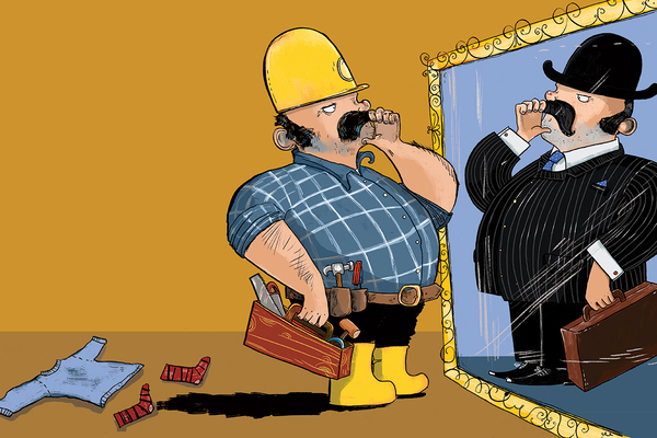 When builders become landlords
